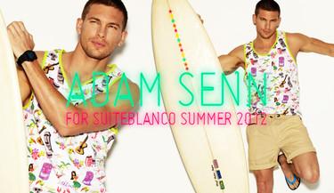 Suite Blanco vuelve con Adam Senn e Irina Shayk esta Primavera-Verano 2012