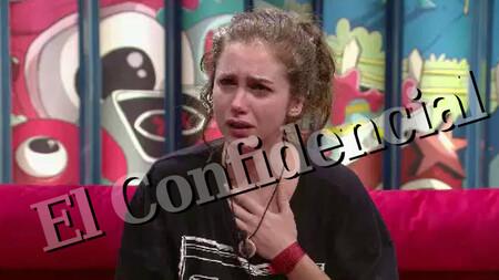 El Confidencial tuvo acceso exclusivo al video del confesionario donde el programa mostraba a Carlota lo sucedido.