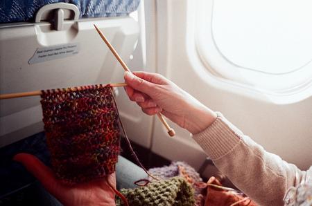 tejiendo en vuelo