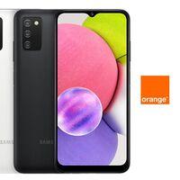 Precios Samsung Galaxy A03s a plazos con Orange y descuento de hasta 126 euros