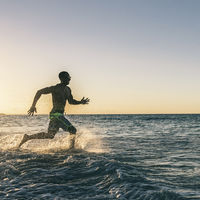 Correr en el agua, un ejercicio muy completo