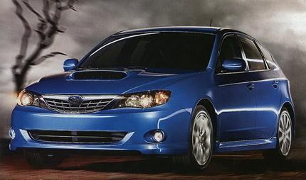 Subaru Impreza WRX 2008, filtradas las primeras fotos