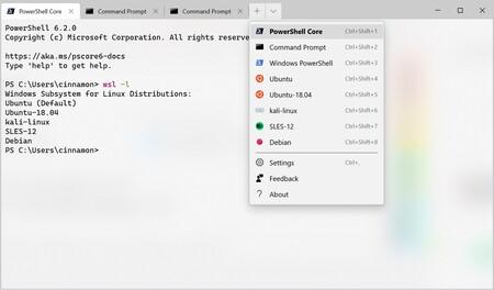 Windows Terminal ya permite en la beta arrastrar y soltar una carpeta para abrir una consola de esa carpeta