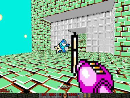 Mega Man FPS style