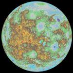 Se obtiene el primer modelo topográfico global de Mercurio
