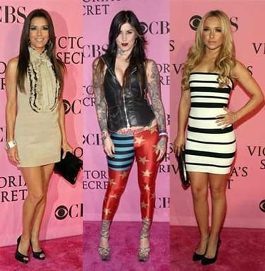 Las celebridades en el desfile de Victoria's Secret