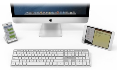 Multy-Sync Keyboard de Kanex, un teclado para conectar hasta tres dispositivos diferentes