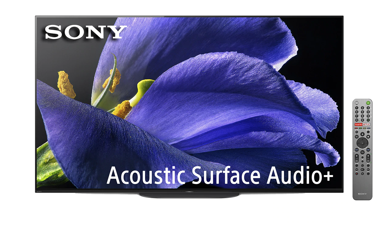 """TV OLED 139,7 cm (55"""") Sony KD-55AG9 4K HDR X1 Ultimate, Android TV, Triluminos Display, Acoustic Surface Audio+ y Google Assistant"""