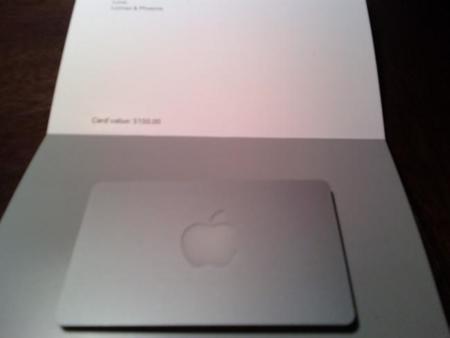 Tarjeta Regalo Apple