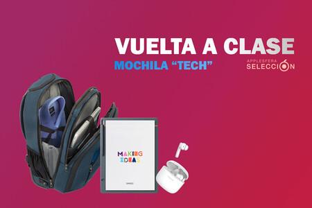 """Mochila """"Tech"""" para la vuelta a clase: fundas, dispositivos, accesorios y apps para afrontar el nuevo curso"""