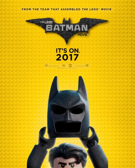 Lego Batman Teaser Poster Comic Con