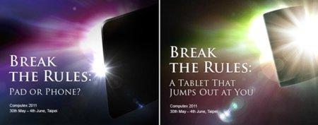 Asus prepara nuevos smartphones y tablets Android