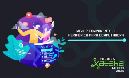 Mejor componente o periférico para computadora, vota por tu favorito en los premios Xataka México 2020