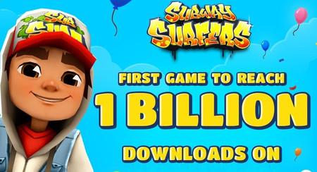 Subway Surfers es el primer juego en superar los mil millones de descargas en Google Play
