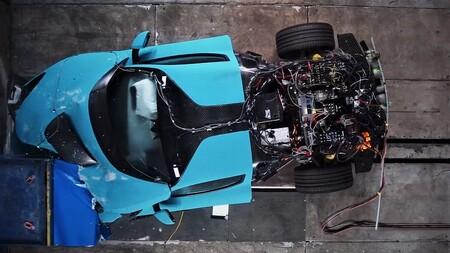 Rimac C_Two contra el muro: el doloroso crash-test de un hiperdeportivo de 2,2 millones de euros (y por duplicado)