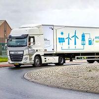 El primer tráiler de hidrógeno de 44 toneladas ya circula en Europa. Es obra de DAF y tiene 300 km de autonomía