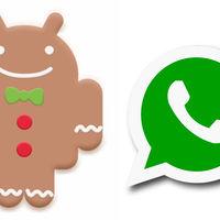 WhatsApp seguirá funcionando en Android Gingerbread hasta 2020