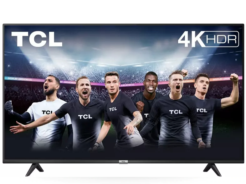 "TV LED 43"" - TCL 43P615, UHD 4K, Smart TV, DVB-T2, 16 W, Dolby Atmos, Android TV, Negro"