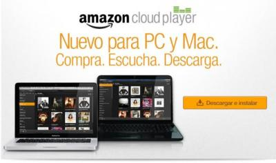 Amazon Cloud Player, ahora disponible para Windows y OS X