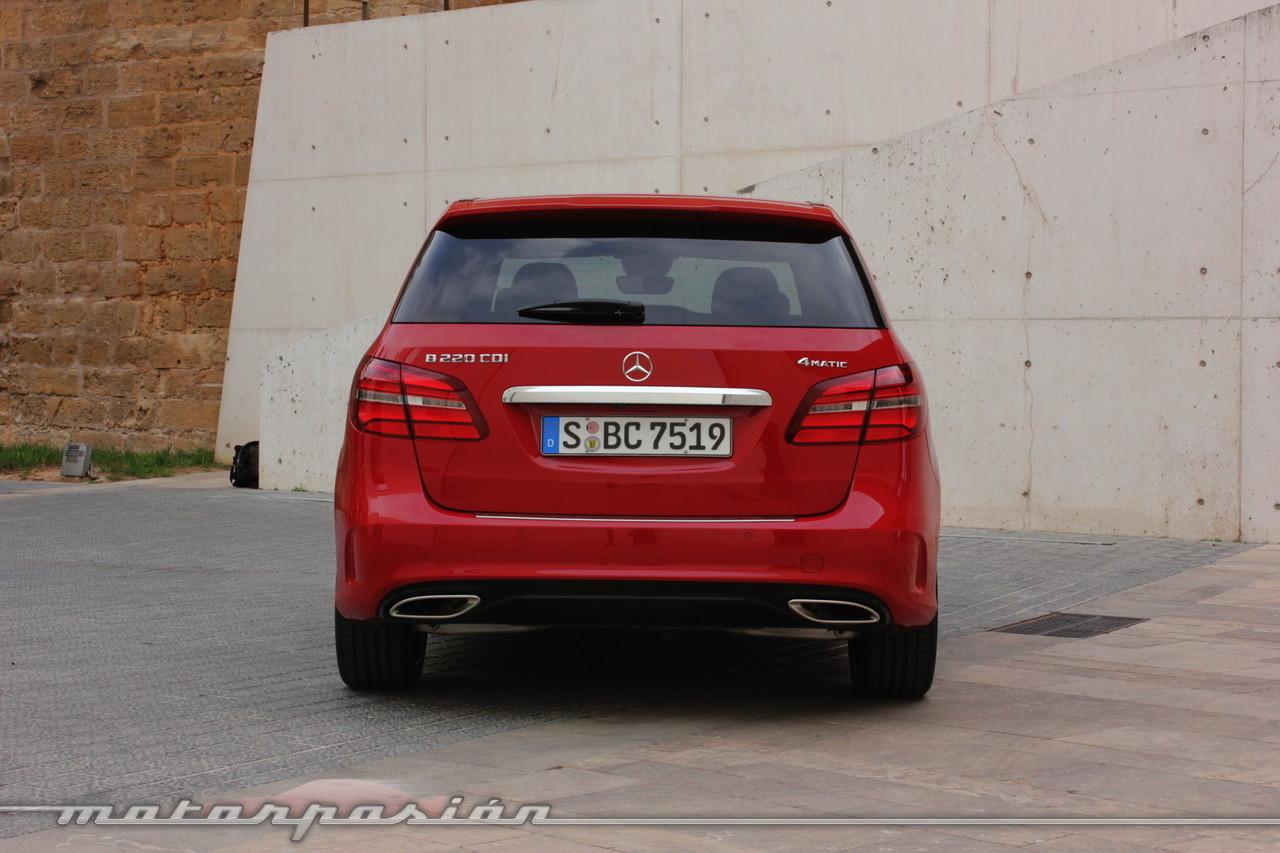 Foto de Mercedes-Benz Clase B 2015 - contacto (6/38)