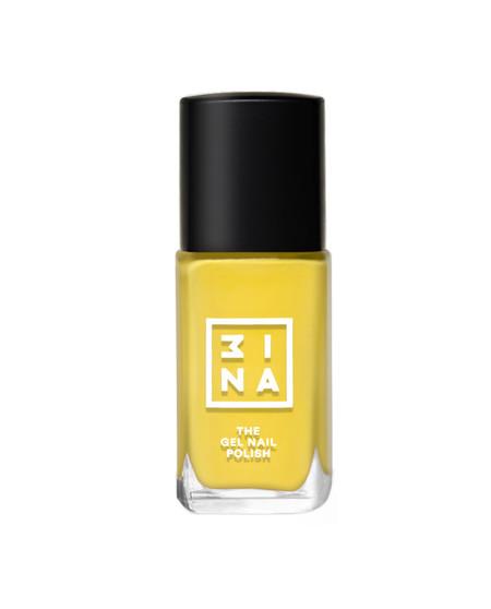 Mina esmalte de uñas amarillo