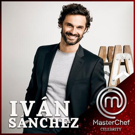 Iván Sánchez en Masterchef Celebrity