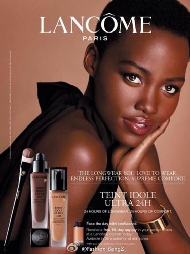 Ya era hora de empezar a ver a Lupita Nyong'o en anuncios...