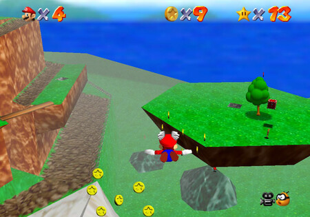 Super Mario 64: cómo conseguir la estrella Mario Wings to the Sky de Bob-omb Battlefield