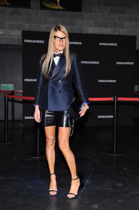 Anna Dello Russo traje look