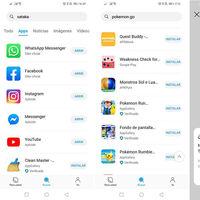 Petal Search de Huawei añade APKMirror a sus fuentes y permite instalar archivos XAPK