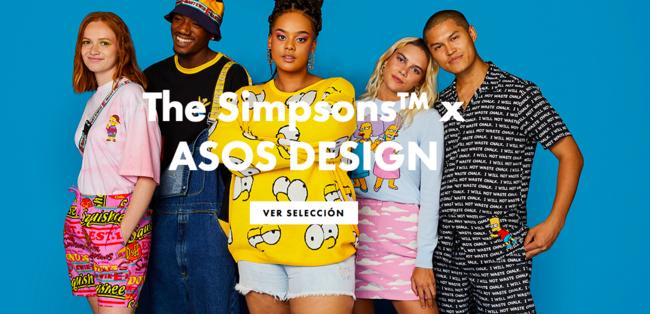 La nueva colección de los Simpson por ASOS DESIGN es tan top que lo querrás todo