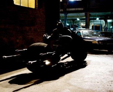 """""""Batpod"""", la moto de Batman"""