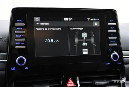 Hyundai Ioniq 2021 Hibrido Mexico Opiniones Prueba 18