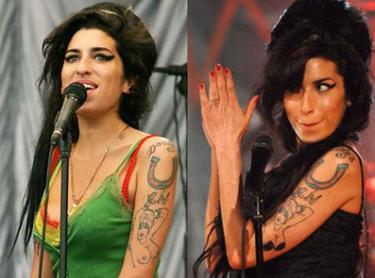El tattoo de Amy Winehouse