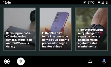 Tu web favorita en Android Auto: así puedes convertir cualquier web en una aplicación