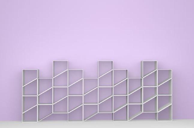 Foto de EZIOcase, otra estantería transformable y modular (1/6)