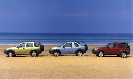 Land Rover Freelander Line