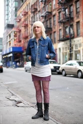 Looks de calle: vuelta a la universidad grunge