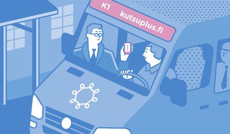 Kutsuplus: el servicio de autobús a la carta de Helsinki