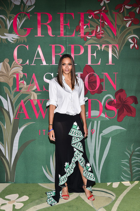 Stella Jean green carpet fashion awards 2019