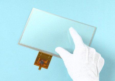 Una pantalla para utilizar con guantes
