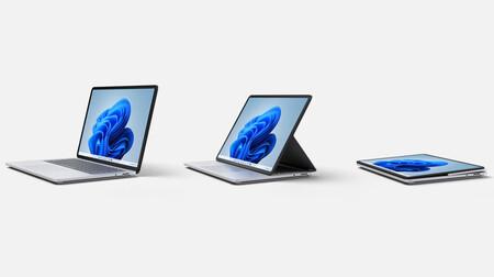 Surface Laptop Studio: la pantalla abatible a 120Hz llega al portátil de Microsoft más poderoso jamás creado