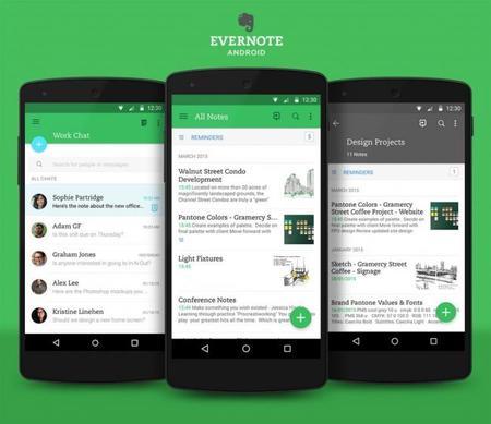 Evernote 7.0 llega con nuevo diseño y se adapta a tu forma de tomar notas