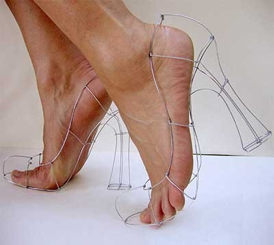 Zapatos para masoquistas