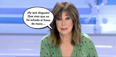 El inesperado contratiempo que Ana Rosa Quintana ha sufrido en directo