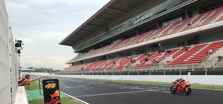 La lluvia obliga a aplazar los test de MotoGP en Montmeló hasta mañana (aunque no para todos)