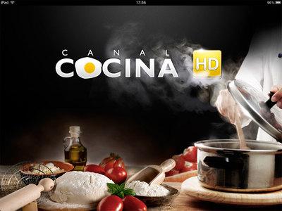 La app de Canal Cocina para el iPad