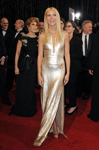 Gwyneth Paltrow zapatos Oscar 2011