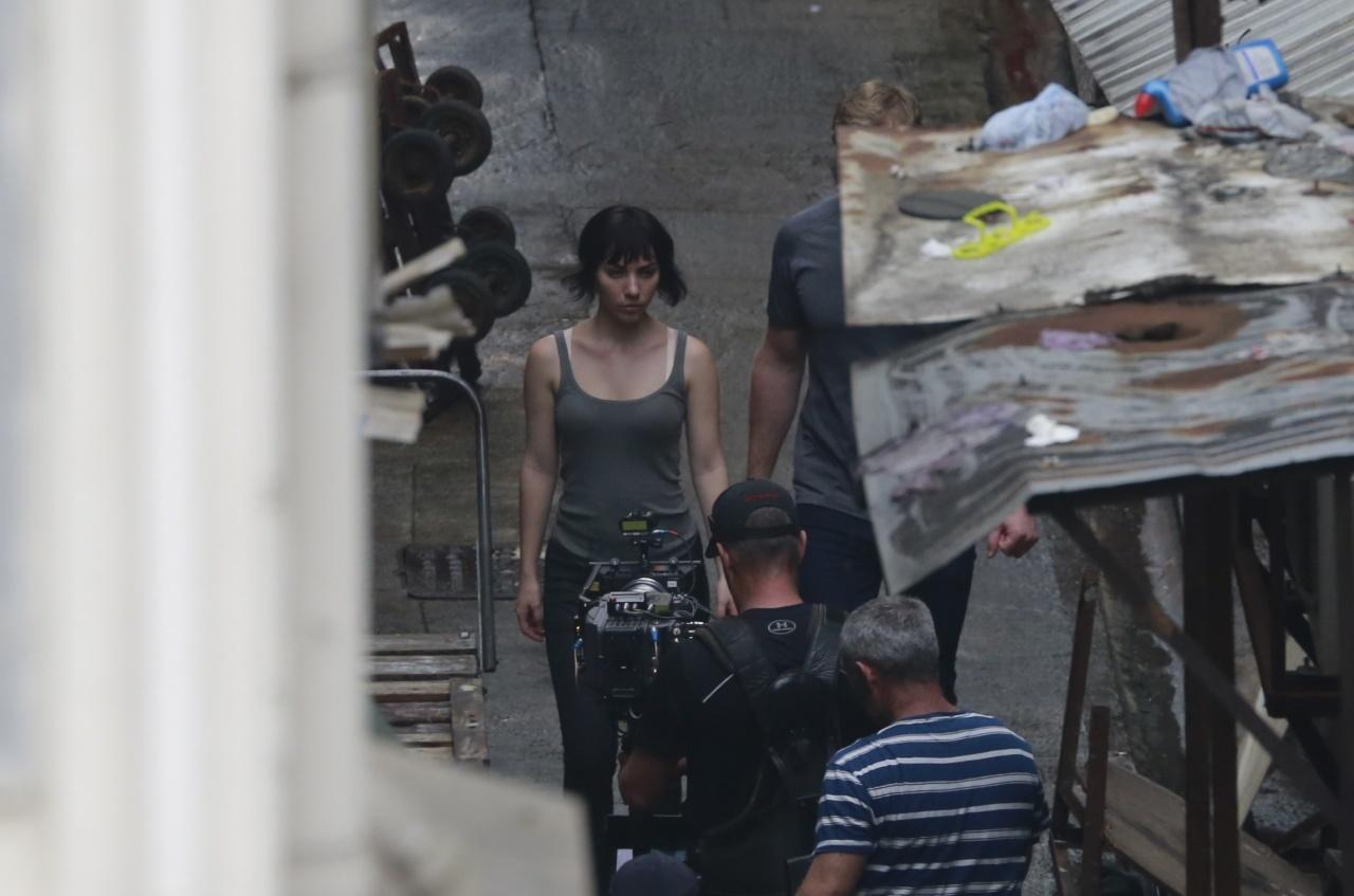 Foto de 'Ghost in the Shell', imágenes del rodaje (1/12)