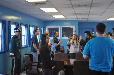 Tourists Jsa Conference Room